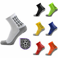 Men's Anti-Slip Socks Football Ankle Socks Non Slip Sports Athletic Soccer Socks