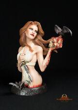 Karnstein Vampire Bust Model Kit Unpainted Quarantine Studio Gothic