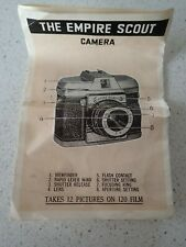 The Empire Scout Camera Instructions