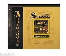 Narrenturm (audiobook CD) Sapkowski Andrzej - POLISH POLSKI