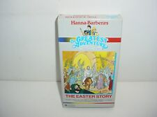 The Greatest Adventure Easter Story Bible Hanna Barberas VHS Video Tape Movie