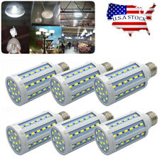 6Pack LED Bulb 60-Chip Corn Light E26 1100lm 10W 6000K Cool Daylight White Lamp