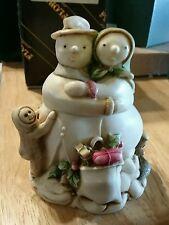 Harmony Kingdom 'Snowdonia Fields' Figurine Snowman Tjsesn99 Nib Edition 1