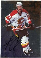 98-99 BE A PLAYER BAP SIGNATURE AUTOGRAPH AUTO #20 ANDREW CASSELS FLAMES *35314
