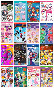 700 STICKERS PAD Set - Party Bag Gift Birthday Xmas Stocking Filler Childrens