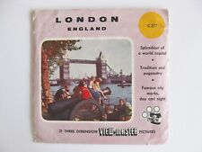 VIEW MASTER VIEWMASTER LONDON ENGLAND Only Packet No Reels