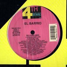 """El Barrio So confused (1991, feat. Paula Brion)  [Maxi 12""""]"""