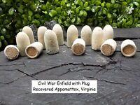 Rare Vintage Antique Civil War Confederate Enfield Bullet Appomattox, Virginia.