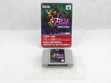 Nintendo 64 N64 The Legend Of Zelda Majora's Mask Boxed Japan