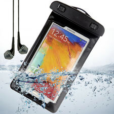 Waterproof Phone Pouch Dry Bag Armband Case for Samsung Galaxy S9 S8 S7+Earphone