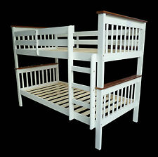 King Single Bunk Beds Timber