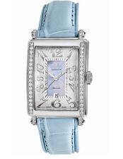 Gevril Women's 6207NE Glamour Automatic Blue Diamond MOP Dial Date Wristwatch