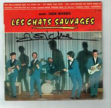 33T 25cm Dick RIVERS Les CHATS SAUVAGES Vinyle OH ! OUI TWISTER -PATHE 1160 RARE