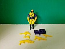 1993 GI Joe Dr. Mindbender (v2) Action Figure with Weapons & Accessories!