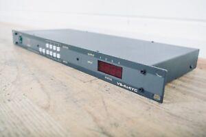Kramer VS-4x4YC 4x4 Vertical Interval Matrix Switcher in very good condition