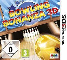 Nintendo 3DS 3 gioco DS Bowling Bonanza 3D Nuovo
