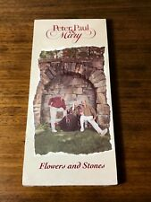 PETER, PAUL & MARY ~ FLOWERS AND STONES ORIGINAL LONG BOX CD ~ STILL SEALED 1990