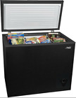 Arctic King 7 Cu Ft Easy Clean with Removable Gasket Chest Freezer - Black photo