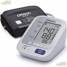 OMRON M3 DIGITALE LED Automatico Intellisense parte superiore del braccio della pressione sanguigna monitor BPM