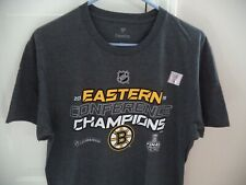 73dfa8fb48a7 Boston Bruins 2019 Eastern Conference Champions Official Locker Room T-Shirt  M