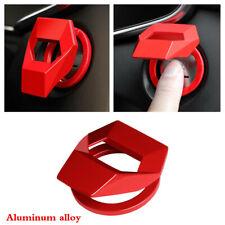Aluminum Alloy Trim Cover Ring Car Engine Start Stop Push Button Cap Protection