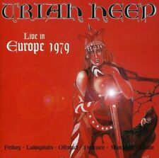 Uriah Heep - Live in Europe 1979 - Uriah Heep CD A2VG The Fast Free Shipping