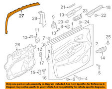 FORD OEM 13-18 C-Max Front Door-Window Molding Right AM5Z5851752A