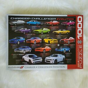 Eurographics Dodge Charger Challenger Evolution 1000 Piece Jigsaw Puzzle