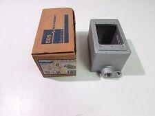 """OZ-GEDNEY FDC-1-50A CAST DEVICE BOX 1/2"""" ENDS """"FDC"""" STYLE **NIB**"""