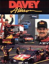 1993 Davey Allison Texaco Ford Thunderbird NASCAR Winston Cup postcard
