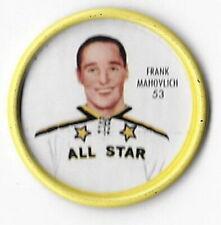 1962-63 Shirriff Hockey Coin # 53 Frank Mahovlich All Star