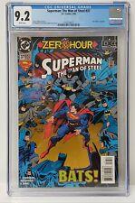 Superman: The Man of Steel Issue# 37 DC Comics 1994 CGC Graded 9.2 Comic Book
