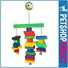 Green Parrot Bird Toy BOBBLE (FREE DELIVERY)