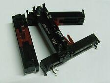 4 x 22K LIN slider pot 60mm Egen 500-00029 linear control  potentiometer 20k 203