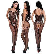 Sexy Women Ladies Fishnet Bodystocking Lingerie Bodysuit Night Dress Jumpsuit