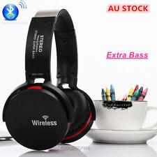 Wireless Bluetooth Headphones Cordless Headset BASS Stereo Earphone FM WIC  MP3