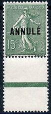 STAMP / TIMBRE DE FRANCE COURS D'INSTRUTION N° 130-CI 2 ** BORD DE FEUILLE