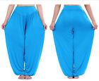 Femme Sarouel baggy pantalon en vrac Yoga Ali Baba Legging grande taille