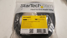 StarTech 10 ft DVI-A Male to VGA Male Display Monitor Video Cable DVIVGAMM10