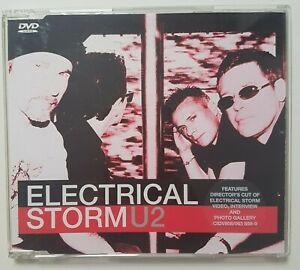 U2  DVD SINGLE VIDEO : ELECTRICAL STORM (REMIX + DIRECTOR'S CUT VIDEO & MORE)