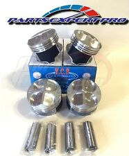 YCP 81.5MM HIGH COMPRESSION PISTONS ACURA INTEGRA CIVIC SI TYPE R B16 B18