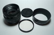 CONTAX N Carl Zeiss Planar 50/1.4 Lens Conurus modified Canon EF mount w/ AF