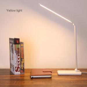 Adjustable Aluminium Alloy USB LED Desk Lamp Desktop Folding Long Arm Light
