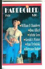 HARDBOILED #45, rare US Gryphon crime noir gga digest mag, Lees, Trybulski, more