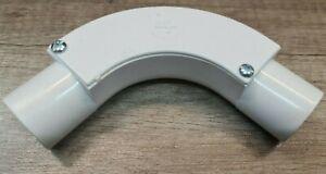 Marshall Tufflex MT 25mm IB 25 White PVC Inspection Bend