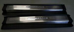 JAGUAR F-TYPE Illuminated Scuff Plates & Sill Covers. Pair.