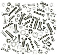MIXED STAINLESS STEEL A2 M5 M6 M8 FASTENERS FULLY THREADED BOLTS / SET SCREWS