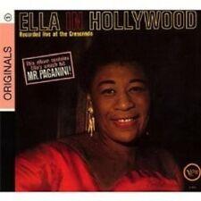 "ELLA FITZGERALD ""ELLA IN HOLLYWOOD"" CD DIGIPACK NEW+"