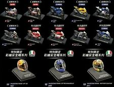 A Set Valentino Rossi MotoGP Bike (10 Bikes and 3 Helmets )Free Shipping