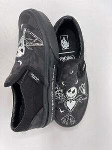 Vans X Nightmare before Christmas Slip on Kids Shoes Size 12 NEW